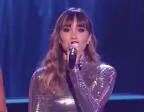 Así fue el debut de Aitana como presentadora en los Grammy Latinos 2018
