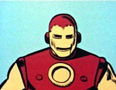 Cabecera de 'The Marvel Superheroes', primera serie con personajes de Marvel de la historia