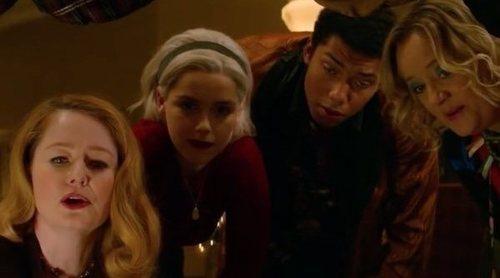 Tráiler del especial navideño de 'Las escalofriantes aventuras de Sabrina', con un aterrador fantasma invernal
