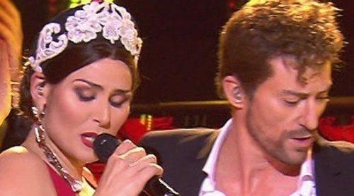 Así imitan Pablo Puyol y Rosa a David Bisbal y Greeicy en 'Tu cara me suena'