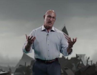 La magia de la realidad aumentada: Se cuela un tornado en un plató de televisión y lo destroza por completo