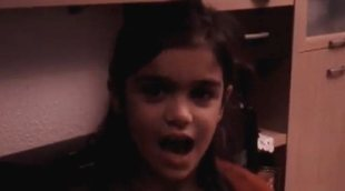 Una pequeña y entrañable Amaia Romero ('OT 2017') canta un villancico navideño