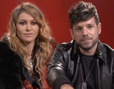 """Paulina Rubio y Pablo López ('La voz'): """"Vamos a encontrar algo único que viene para quedarse"""""""