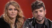Paulina Rubio y Pablo López ('La voz'):