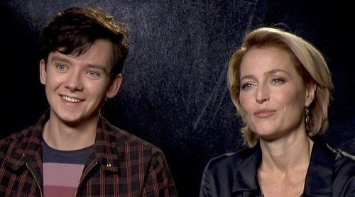 "Gillian Anderson y Asa Butterfield ('Sex Education'): ""Es raro que el sexo siga siendo un tabú"""