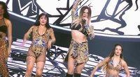 Ricky Merino se pasa a 'Tu cara me suena' para imitar a Lola Índigo en la promo de la Gala 12
