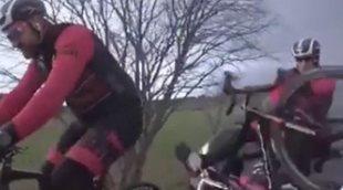 El brutal atropello a Dani Rovira y sus compañeros durante el rodaje de 'Todos los caminos'