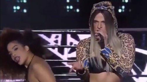 'Tu cara me suena': Segundo adelanto de Ricky Merino en la Gala 12 imitando a Lola Índigo