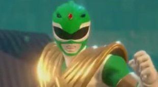 "Tráiler del videojuego ""Power Rangers: Battle for the Grid"", con cameo del Ranger Verde de la serie"