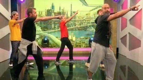 El equipo de 'El hormiguero' baila al ritmo de Michael Jackson en la nueva coreografía del programa
