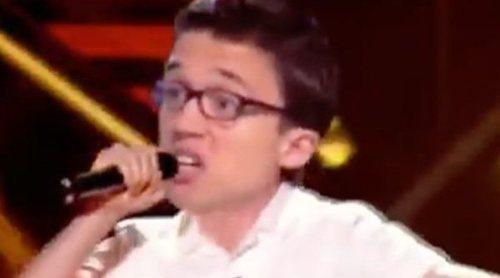 """Íñigo Errejón canta """"La venda"""" como su tema de campaña en la divertida parodia de 'Late Motiv'"""