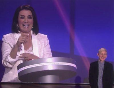 Ellen DeGeneres muestra en su programa un avance de 'Juego de Juegos' con Silvia Abril