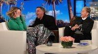 Sarah Paulson, víctima de un nuevo y divertido susto en 'The Ellen DeGeneres Show'