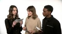 Los protagonistas de 'Sex Education' se someten a un test de expresiones sexuales españolas