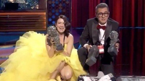 Silvia Abril y Andreu Buenafuente reaparecen de empalme en 'Late Motiv' tras los Premios Goya 2019