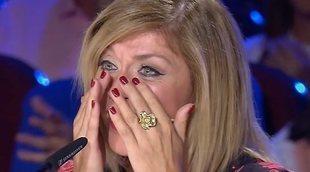 Eva Isanta, muy emocionada en 'Got Talent España':