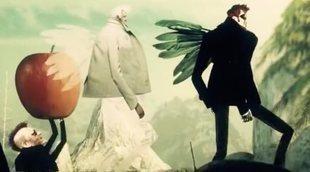 Cabecera de 'Good Omens', la serie de Amazon protagonizada por David Tennant y Michael Sheen