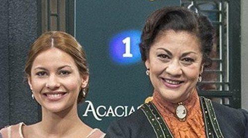 """María Gracia y Aroa Rodríguez: """"'Acacias 38' da un cambio muy brusco, los Domínguez darán mucho juego"""""""