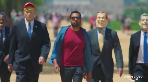 Tráiler de 'This Giant Beast That Is the Global Economy', con Kal Penn explicando capitalismo a ritmo de rap