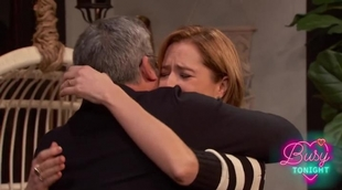 Steve Carell se reencuentra con Jenna Fischer ('The Office') de la manera más inesperada en 'Busy Tonight'