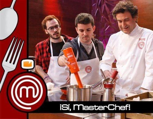 ¡Sí, MasterChef!: Cocinamos con Pepe Rodríguez en el plató de 'MasterChef 7'