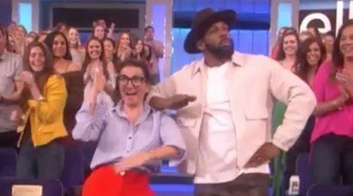 Silvia Abril vuelve a 'The Ellen Show' en Estados Unidos y protagoniza un espectacular baile