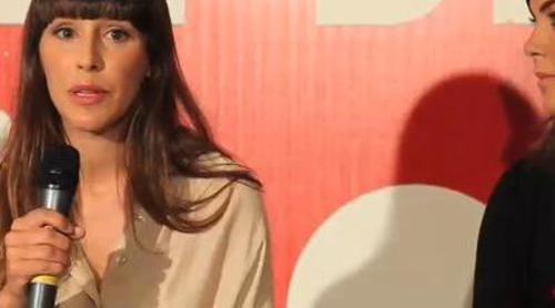 """Samanta Villar: """"Le he dicho a Adela que se lance y que disfrute del programa sin prejuicios"""""""
