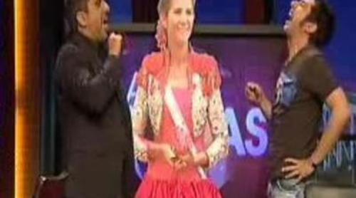 El vestido de la Infanta Elena, en 'Buenafuente'