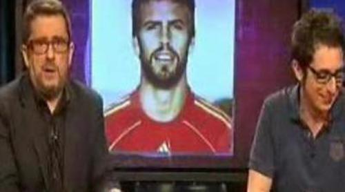 Buenafuente y Berto comentan las heridas de Piqué en el Mundial