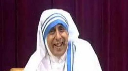 Berto se disfraza de Teresa de Calcuta en 'Buenafuente'