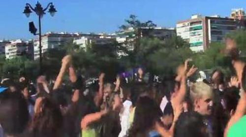 Flashmob de 'Fama Revolution' en Madrid