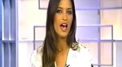 Sara Carbonero ya habla italiano para el Premium Calcio