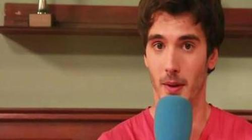 """Yon González: """"'El internado' me ha hecho crecer como actor y como persona"""""""