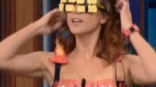 Kate Walsh imita el vestido de Lady Gaga
