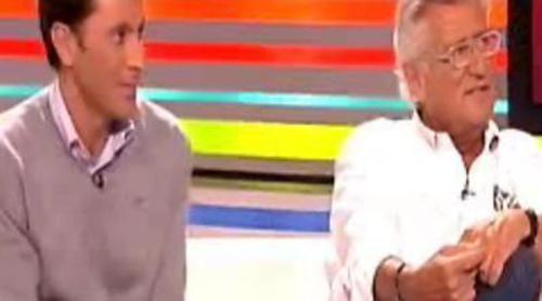 Pepe Domingo Castaño y Paco González visitan 'Sé lo que hicisteis...'