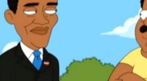 Barack Obama juega al baloncesto en 'The Cleveland Show'