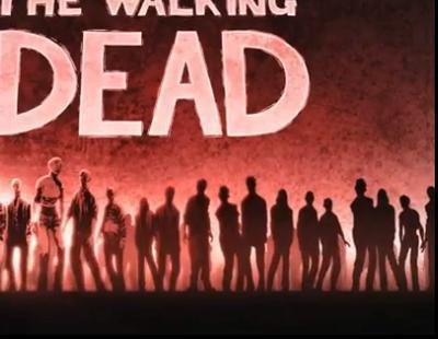 """Cabecera estilo """"cómic"""" de 'The Walking Dead'"""