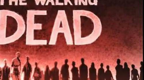 "Cabecera estilo ""cómic"" de 'The Walking Dead'"