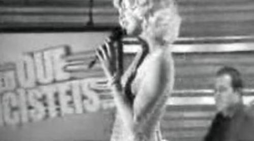 Patricia Conde es Marilyn Monroe en 'Sé lo que hicisteis...'