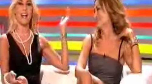 Berta Lomana y Mar Segura, concursantes de 'Saber y glamour'
