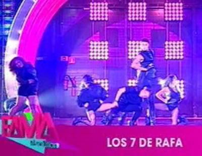 """Espectacular coreografía de """"Los 7 de Rafa"""" de 'Fama Revolution'"""