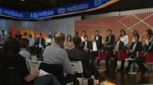 Presentación de 'TDP noticias', un informativo dedicado al deporte