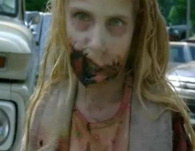 Rick Grimes mata una niña zombie en 'The Walking Dead'