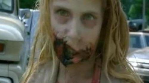 Rick Grimes mata una niña zombie en 'The Walking Dead'