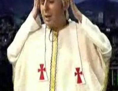 Benedicto XVI, según Berto en 'Buenafuente'