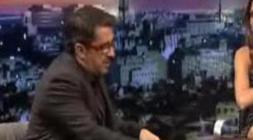 Eva Mendes entrevista a Andreu en 'Buenafuente'