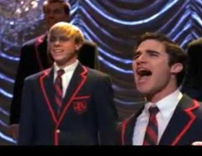 "Darren Criss interpreta ""Hey, Soul Sister"" de Train en 'Glee'"