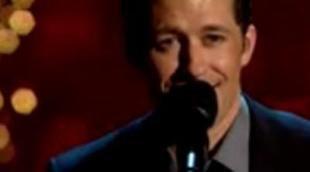 Matthew Morrison de 'Glee' canta ante Barack Obama
