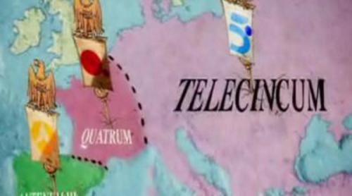 """""""Telecinco es el Imperio Romano; Antena 3 'Hispania'; y laSexta una aldea gala"""""""