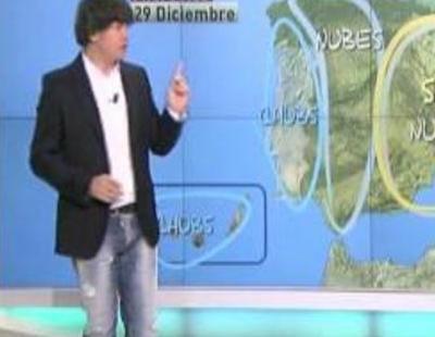Miki Nadal es el nuevo hombre del tiempo de 'laSexta Noticias'